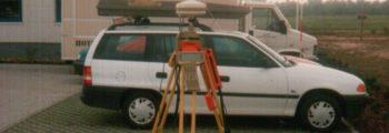 1993 Einführung GPS Vermessung